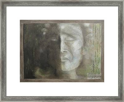 Sorrow Framed Print by Barbara Anna Knauf