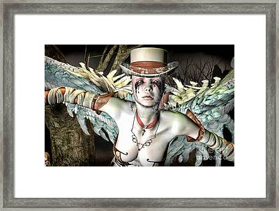 Sorrow Framed Print by Georgina Hannay