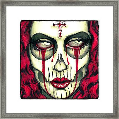 Sorrow Framed Print by Shayne  Bohner