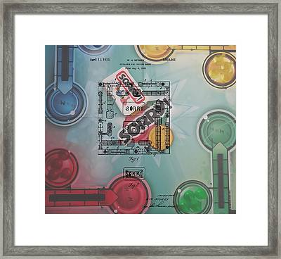 Sorry Game Patent Framed Print by Dan Sproul