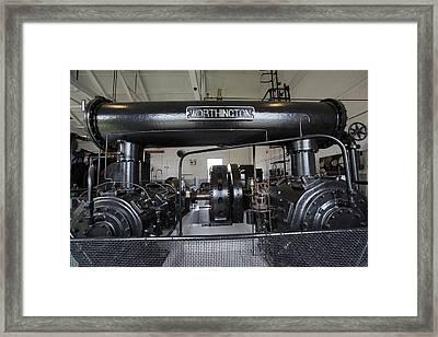 Soudan Mine Engine House Framed Print by Jim West