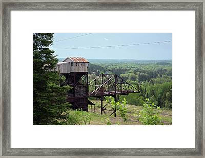 Soudan Mine Underground Laboratory Framed Print by Jim West
