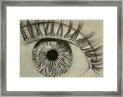 Soul Centroid Framed Print by Ted Castor