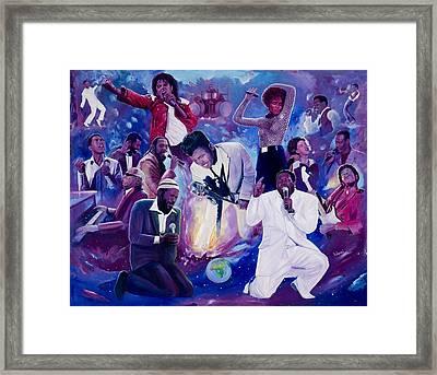 Soul Heaven Framed Print by Kolongi Brathwaite
