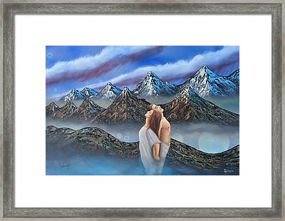 Soul Mates Framed Print by Surreal World