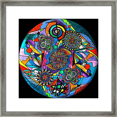 Soul Retrieval Framed Print by Teal Eye  Print Store