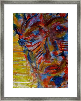 Soul Searching Framed Print by Abram Freitas