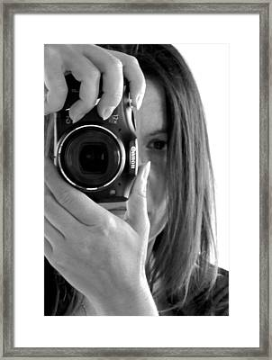 Soul-searching - Self-portrait Framed Print by Marianna Mills