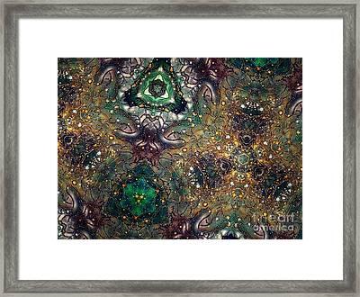 Soul Threads II Framed Print by Denise Nickey