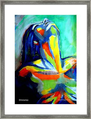 Soulful Framed Print by Helena Wierzbicki