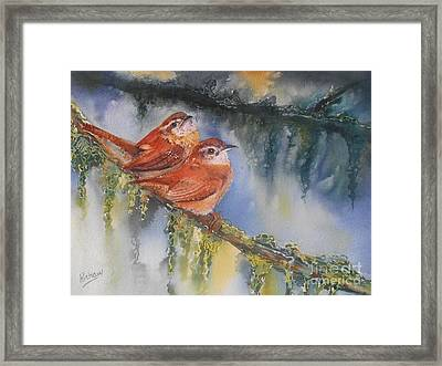 Soulmates Framed Print by Patricia Pushaw