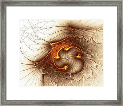 Souls Of The Dragons Framed Print by Anastasiya Malakhova