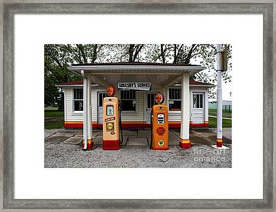 Soulsby's Service Framed Print by John Rizzuto