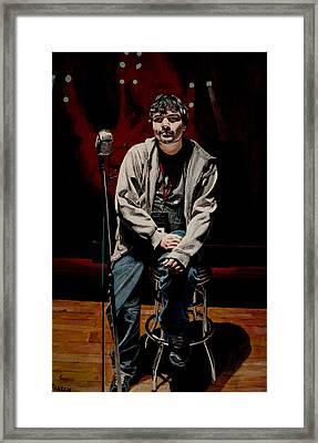 Sound Check Framed Print by Patricio Lazen