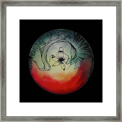 Sound Of Ceremony Framed Print by Andrea Carroll