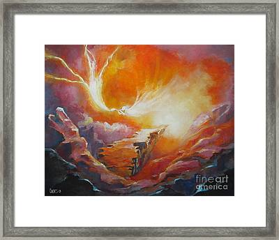 Sound Of Heaven Framed Print by Tamer and Cindy Elsharouni