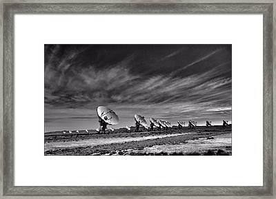 Sound Waves Framed Print by Dan Sproul