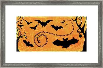 Sounds Like Halloween I Framed Print by Belinda Aldrich