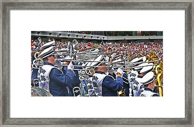 Sounds Of College Football Framed Print by Tom Gari Gallery-Three-Photography