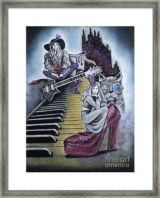 Sounds Of The 70s Framed Print by Carla Carson