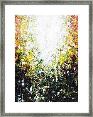 Source Of Light Framed Print by Kume Bryant