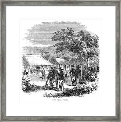 South Africa Farmhouse Framed Print by Granger