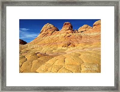 South Coyote Buttes 4 Framed Print by Bob Christopher