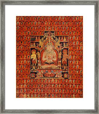 South East Asian Art Framed Print by Corporate Art Task Force