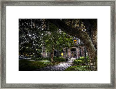 South Entry Framed Print by Marvin Spates