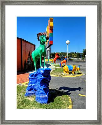 South Of The Border 009 Framed Print by Lance Vaughn