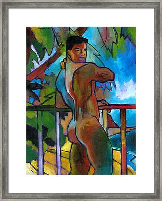 South Pacific Framed Print by Douglas Simonson