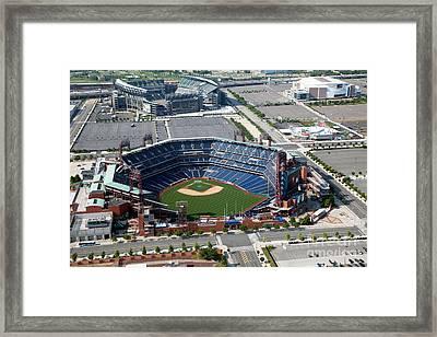 South Philadelphia Sports Complex Philadelphia Pennsylvania Framed Print by Bill Cobb