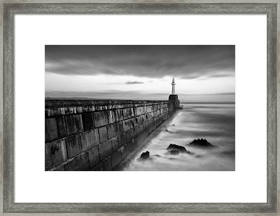 South Pier 1 Framed Print by Dave Bowman