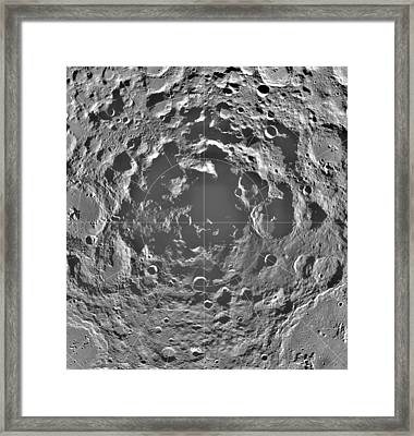 South Pole Of Moon  Framed Print by Anonymous