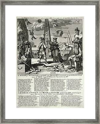 South Sea Company Framed Print by Library Of Congress