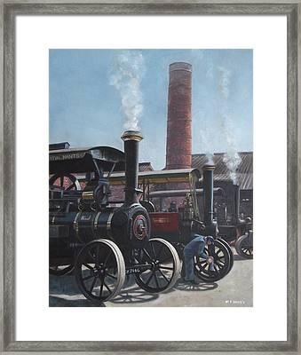 Southampton Bursledon Brickworks Open Day Framed Print by Martin Davey