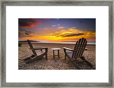 Southampton Shores View For 2 Framed Print by Ryan Moore