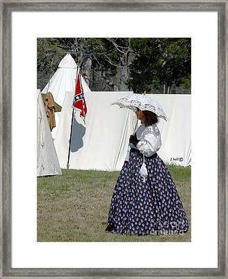 Southern Bell Framed Print by Francine Hall