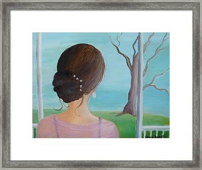 Southern Belle Framed Print by Glenda Barrett