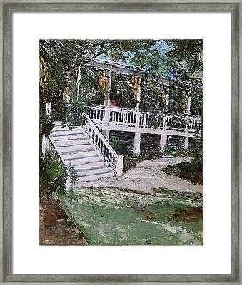 Southern Charm Framed Print by Donna Mann