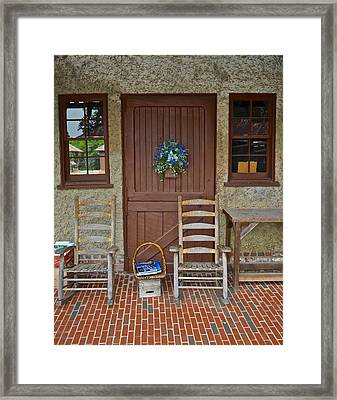 Southern Charm Framed Print by Frozen in Time Fine Art Photography