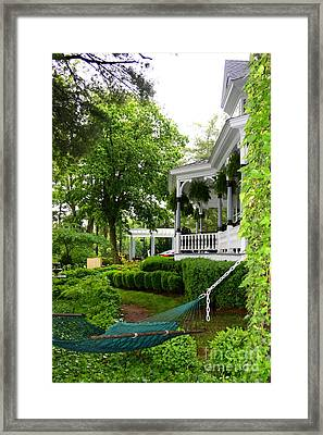 Southern Hospitality Framed Print by Patti Whitten