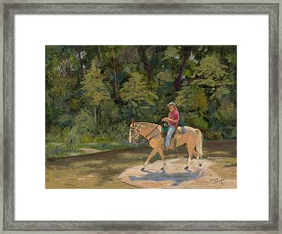 Southern Light Framed Print by Tommy Thompson