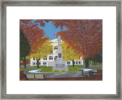 Southern Soldier Framed Print by Clinton Cheatham