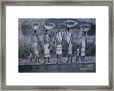 Southern Women Framed Print by Mohamed Fadul