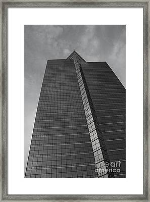 Southfield Hi Rise Black And White Framed Print by Bill Woodstock