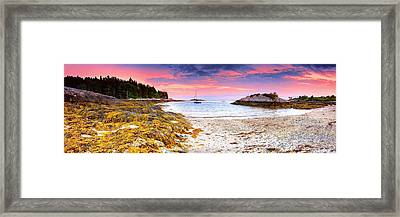 Southport  Maine Framed Print by Emmanuel Panagiotakis