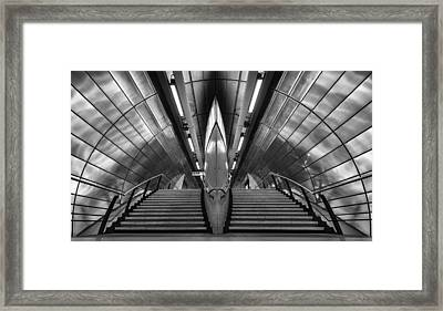 Southwark Tube Station Framed Print by Richard Allen