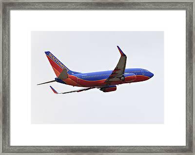 Southwest Skies Framed Print by Ricky Barnard