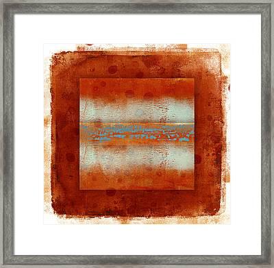 Southwest Sunset 1 Framed Print by Carol Leigh